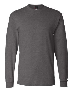 The Hanes Long Sleeve Beefy T-Shirt. A very basic option.