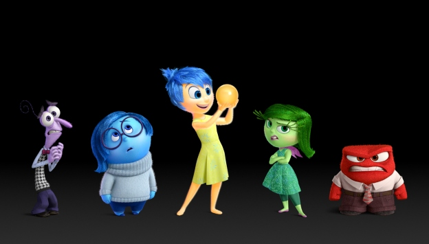 INSIDE OUT: The emotions. Joy holds a memory.  ©2015 Disney•Pixar. All Rights Reserved.