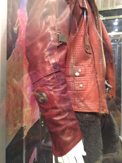 This is a picture of a display of the screen used jacket.